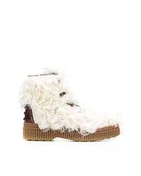 Botas para la nieve blancas de Tod's