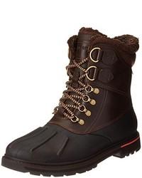 Botas para la nieve en marrón oscuro