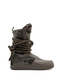 Botas para la nieve en marrón oscuro de Nike