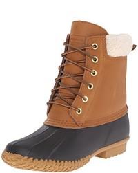 Botas para la nieve marrón claro
