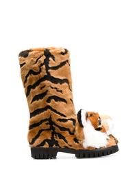 Botas para la nieve marrónes de Dolce & Gabbana