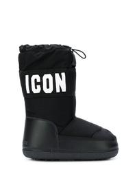 Botas para la Nieve Negras de Dsquared2