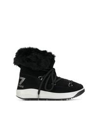 Botas para la nieve negras de Ea7 Emporio Armani