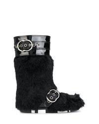 Botas para la nieve negras de Miu Miu