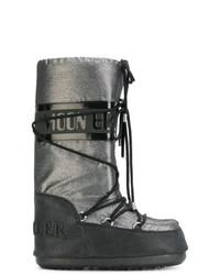 Botas para la Nieve Plateadas de Moncler