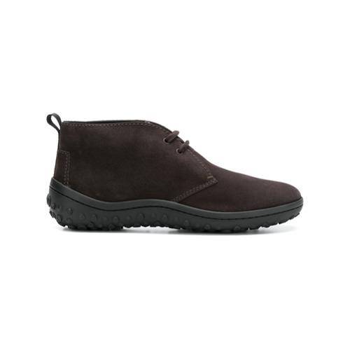 Botas safari de ante en marrón oscuro de Car Shoe