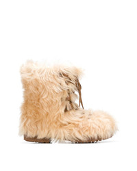 Botas Ugg Marrón Claro de Saint Laurent