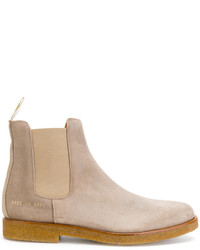 Botines chelsea de ante grises de Common Projects