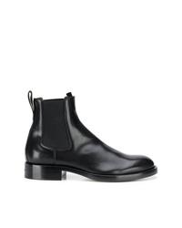 Botines chelsea de cuero negros de Givenchy