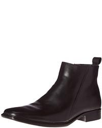3a38d47efc78a Botines chelsea de cuero negros de Skechers