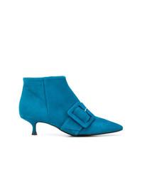 Botines de Ante Azules de Anna F.