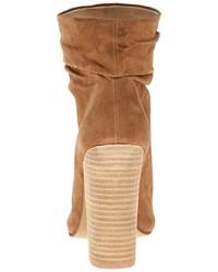 Botines de ante con recorte marrón claro de Chinese Laundry Kristin Cavallari