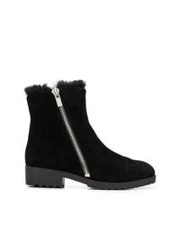 Botines de ante negros de DKNY