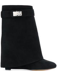 Botines de Ante Negros de Givenchy