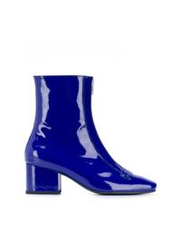 Botines de cuero azules de Dorateymur