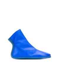 Botines de Cuero Azules de Marsèll