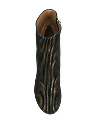 Botines de cuero negros de Laurence Dacade
