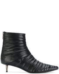 Botines de cuero negros de Tom Ford