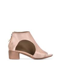 Botines de cuero rosados de Marsèll