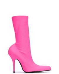 Botines de elástico rosa de Balenciaga