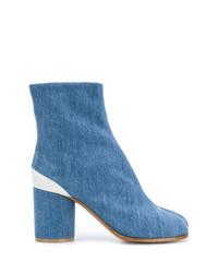 Botines vaqueros azules de Maison Margiela