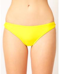 Braguitas de bikini amarillas