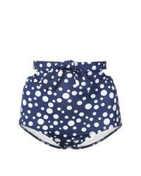 Braguitas de bikini azul marino de Morgan Lane
