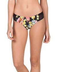 Braguitas de bikini con print de flores