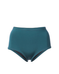 Braguitas de bikini en verde azulado de Cynthia Rowley