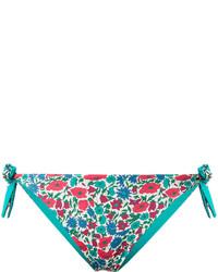 Braguitas de Bikini en Verde Azulado de MC2 Saint Barth