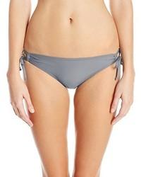 Braguitas de bikini grises