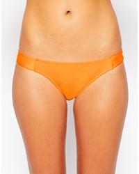 Braguitas de bikini naranjas