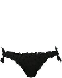 Braguitas de bikini negras de MC2 Saint Barth