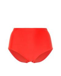 Braguitas de bikini rojas de Matteau
