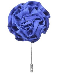 Broche de solapa azul de Stacy Adams