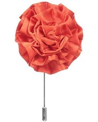 Broche de Solapa de Flores Rojo de Stacy Adams