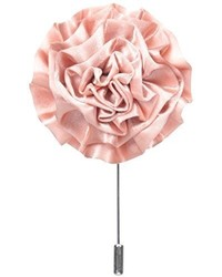 Broche de solapa rosado de Stacy Adams