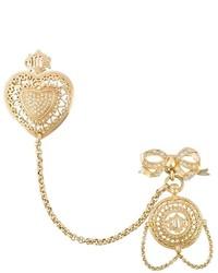 Broche dorado de Christian Dior