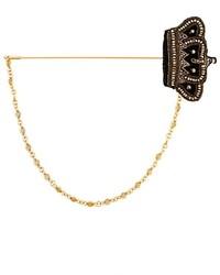 Broche dorado de Dolce & Gabbana