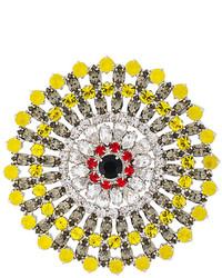Broche dorado de Givenchy