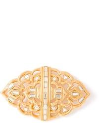 Broche dorado de Saint Laurent