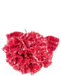 Broche rojo de Chanel