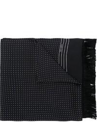 Bufanda a Lunares Negra de Dolce & Gabbana