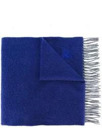 Bufanda azul marino de Canali