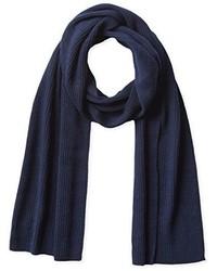 Bufanda azul marino de Phenix Cashmere