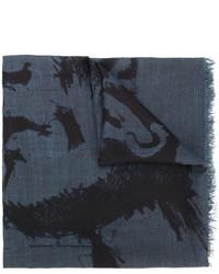 Bufanda azul de Diesel