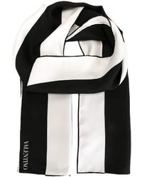 Bufanda Blanca y Negra