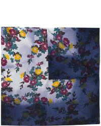Bufanda bordada azul marino de Golden Goose Deluxe Brand