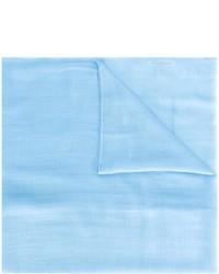 Bufanda celeste de Salvatore Ferragamo