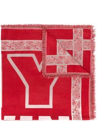 Bufanda de Algodón Roja de Twin-Set